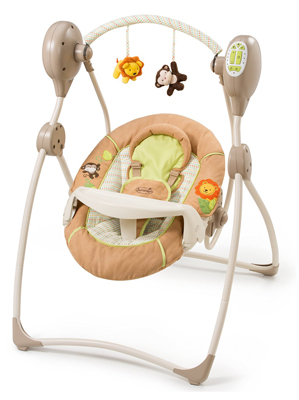 The summer infant sweet sleep musical swing