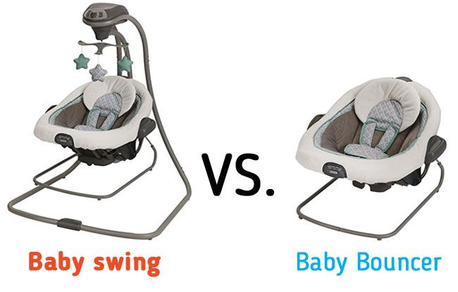 d8011e8de4b5 What is the difference between baby swing Vs baby bouncer