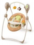 summer infant sweet sleep musical swing swingin' safari