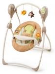 summer infant sweet sleep musical swing swingin' safari